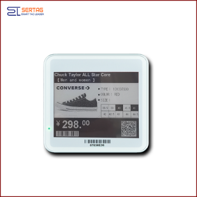 4.2 inch  digital price tag E-ink Electronic Shelf Label with black   and white   for retail