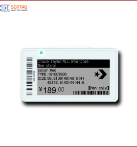 2.13inch E-ink Bluetooth ESL  Digital Price Tag electronic price tag
