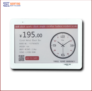 7.5 inch  digital price tag E-ink Electronic Shelf Label with black white and red    for retail