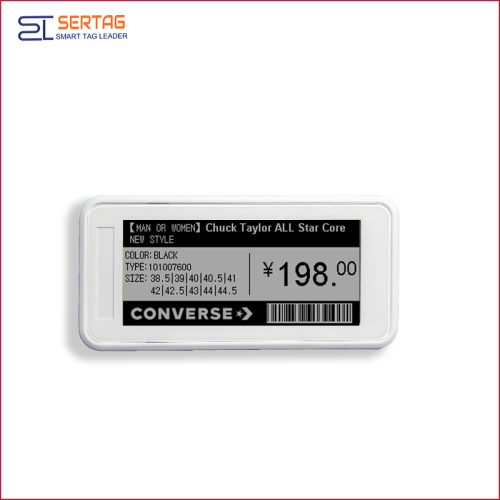 2.9inch bluetooth 5.0 digital price tag E-ink Electronic Shelf Label for retail
