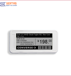 2.9inch  bluetooth esl  supermarket digital shelf label price tags