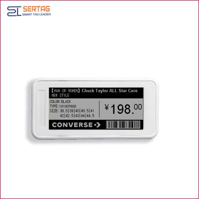 2.9inch bluetooth 5.0 digital price tag E-ink Electronic Shelf Label