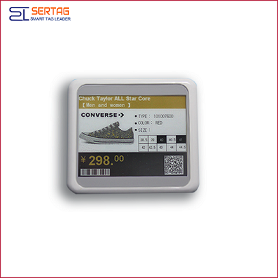 4.2 inch high quality 2.4Ghz digital price tags  electronci shelf labels  wifi for retail
