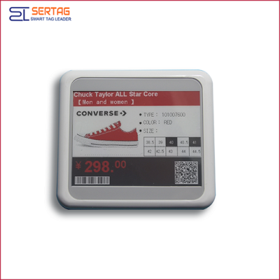 4.2 inch bluetooth esl supermarket digital shelf label price tags