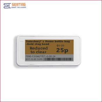 2.9inch bluetooth 5.0  electronic shelf label esl  digital  price tag