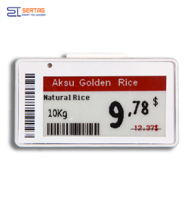 2.13inch Ble Electronic Shelf Labels  E-ink Price Tag  For Grocery Stores