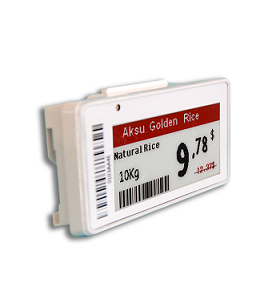 Q1:How many text lines could we display in the 4.2 Inch electronic shelf labels ?