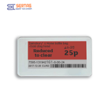 Retail stores are suitable for using electronic price tags.