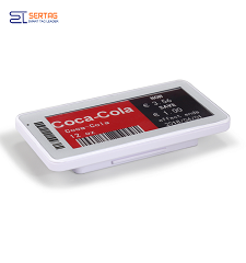 2.9   inch 2.4G wireless   digital price tag E-ink Electronic Shelf Label with black   white and red