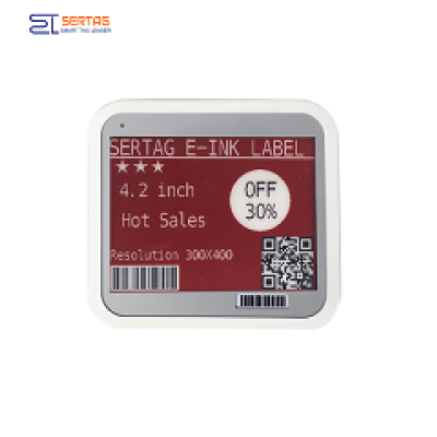 4.2inch Bluetooth ESL Supermarket Digital Shelf Label Price Tags
