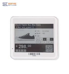 4.2 inch  400*300 Resolution  Electronic  Shelf Label Epaper Display  Tag For Retail