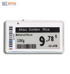 2.13inch e-paper electronic shelf label e-ink price tag for retail