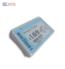 2.13inch low temperature electronic shelf labels epaper digital price tag for retail