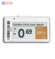 2.13inch  low power China  Electronic Shelf Label epaper labels   with full colors