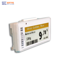 2.13inch zero power esl electronic shelf price tag label digtial price  for food shop