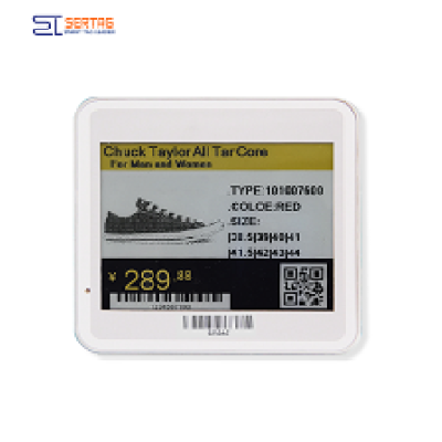 4.2 inch tricolor 400*300 resolution  electronic  shelf label  e- ink shelf label  digital price tag