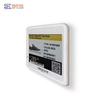 4.2 inch tricolor 400*300 resolution  electronic  shelf label  e- ink shelf label  digital price tag