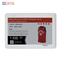 7.5 inch  digital price tag E-ink Electronic Shelf Label with black white and red