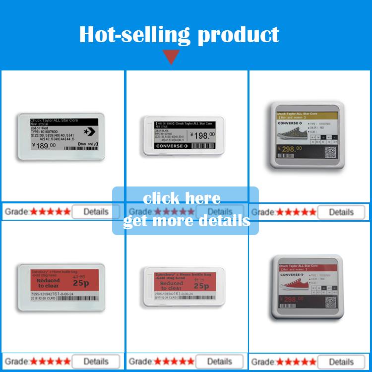 bluetooth shelf labels