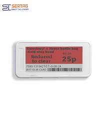 2.9 Inch New Retail Solution 2.4G Digital Price Tag  E-ink Electronic Shelf Label Wifi