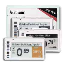 What is the charm of electronic shelf labels