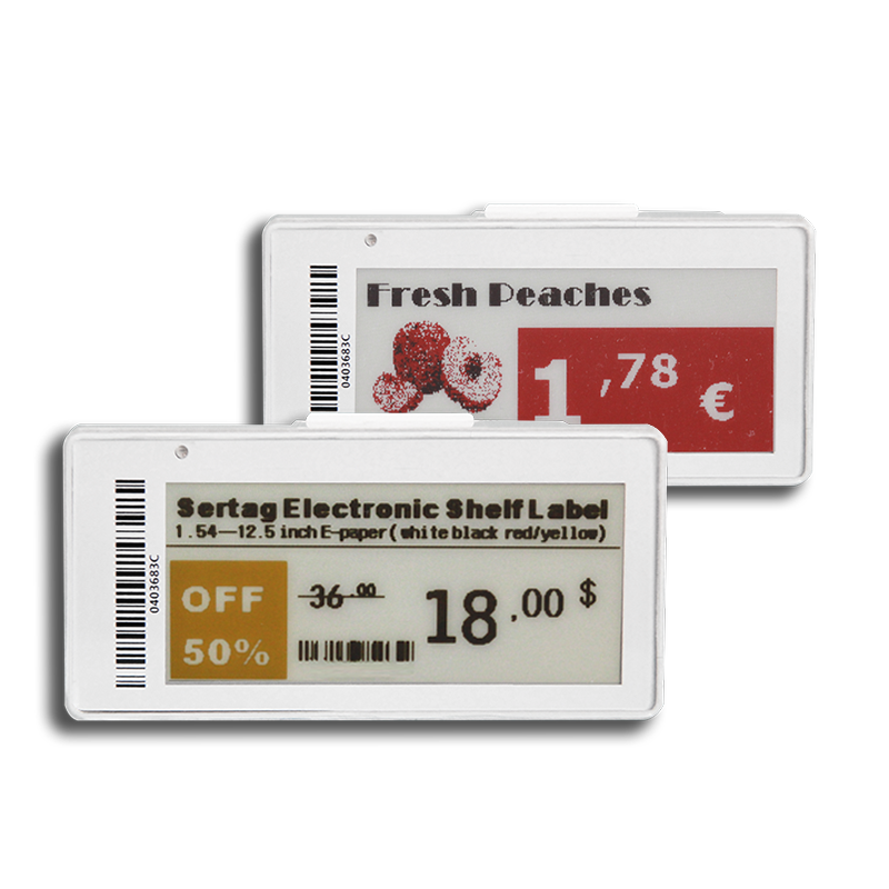 Do you have 2.5 Inches or smaller electronic shelf labels  can be connected over WIFI of the custome
