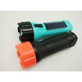 BN-8817B Small Size Camping Lighting Electric Solar LED Flashlight Torch