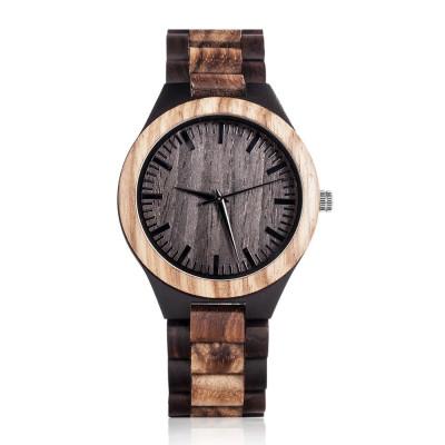 Waterproof Mens Personalized Wooden Watch Handmade