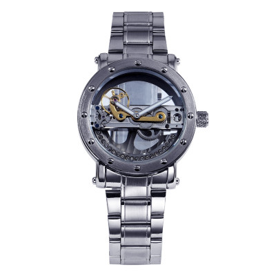 Скелетон Часы на заказ ваш логотип