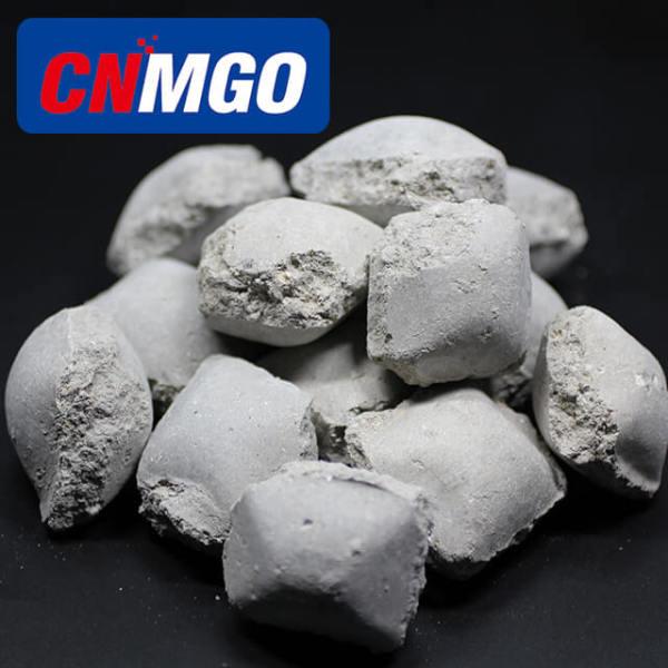 Caustic Calcined Magnesite Magnesium Oxide briquette