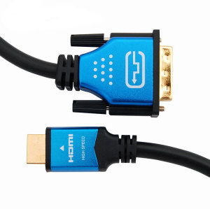 Good Compatibility HDMI to dvi cable 24+1 Male To Male DVI Cable For Computer/TV