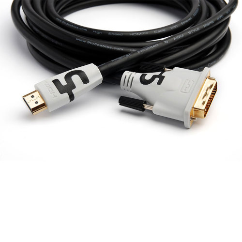 High Speed HDMI to DVI Cable Adapter 24+1 pin Gold Plated upports 3D 1080P