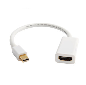 1080P Mini DisplayPort Male to HDMI Female Adapter