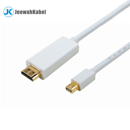 Mini Displayport to HDMI Male Adapter Cable support 1080p 3d
