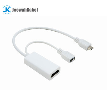 Male Micro USB to Female Hdmi Adapter Converter Cable 1080p HDTV