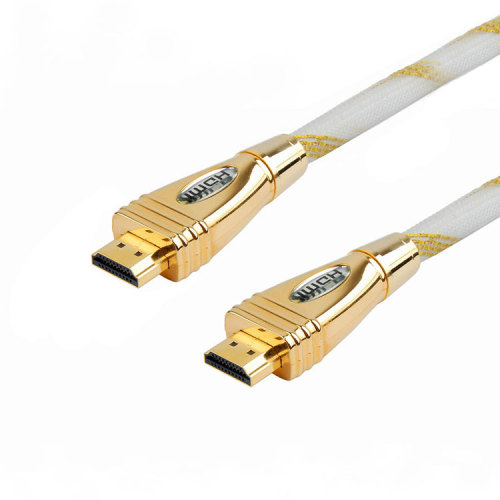 PREMIUM Zinc Alloy Shell HDMI CABLE For BLURAY 3D DVD PS3 HDTV XBOX LCD HD TV 1080P