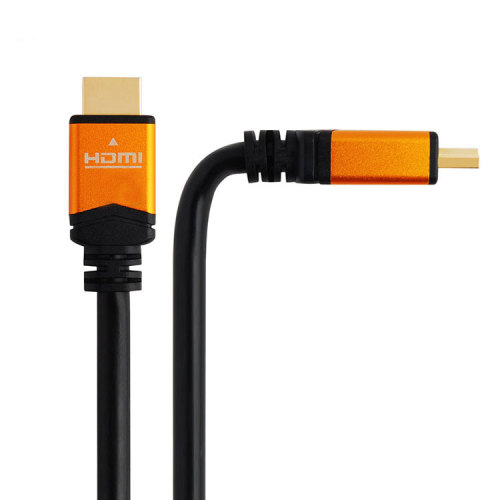 24K Gold Plated Aluminum Shell male to male 4k hdmi 2.0 cable