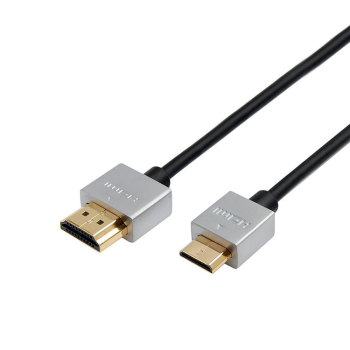 OD 4.2mm 4K support 3D male to male hdmi to hdmi cable slim with ethernet
