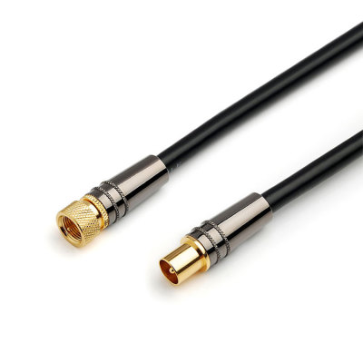 High performance Metal Shell male to female assembly jumper rg6 sma coaxial cable