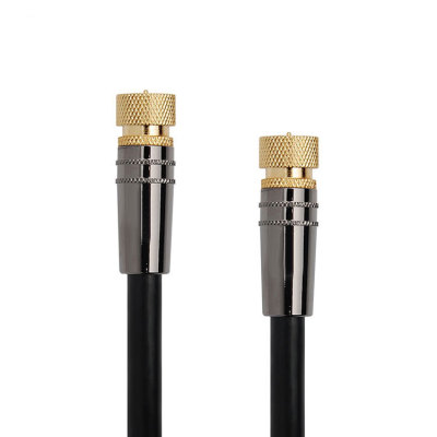 High performance Metal Shell 90 degree assembly jumper rg6 sma coaxial cable