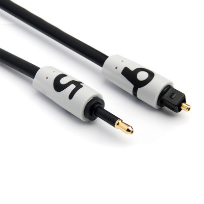 Free sample   toslink to 3.5mm jack Cable