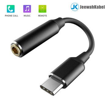 usb 3.1 type c to 3.5mm dc jack adapter Cable