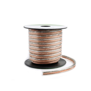 Twisted Pair with PVC jacket electrical cable colored speaker wire
