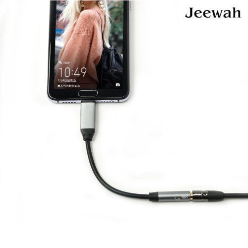 USB Type C to 3.5mm Adapter Cable Headphone Earphone Jack AUX Type-C Convertor Cable