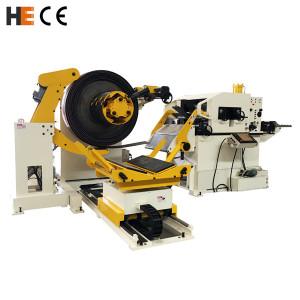HongEr Decoiler Straightener Servo Feeder 3 in 1 Machine GLK4-600
