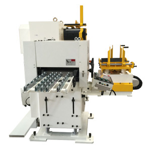 HongEr Dual Decoiler Straightener Servo Feeder 3 in 1 Machine GLK2-600D