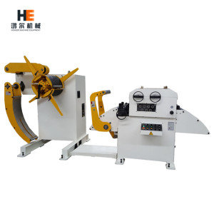 Straightener Machine with Decoiler (4.5mm)
