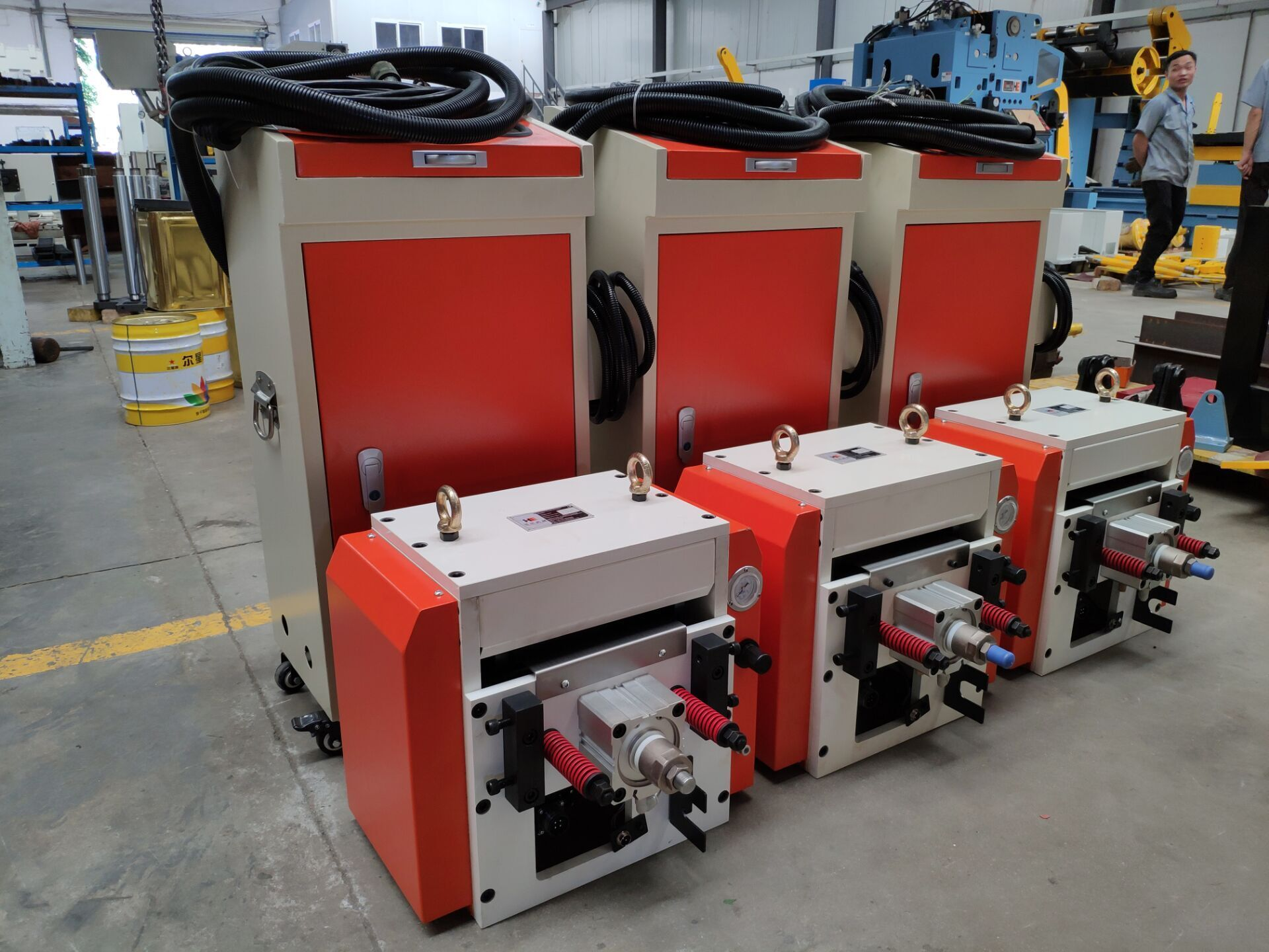 HongEr Coil Metal Sheet / Strip NC Servo Feeder RNC-300B