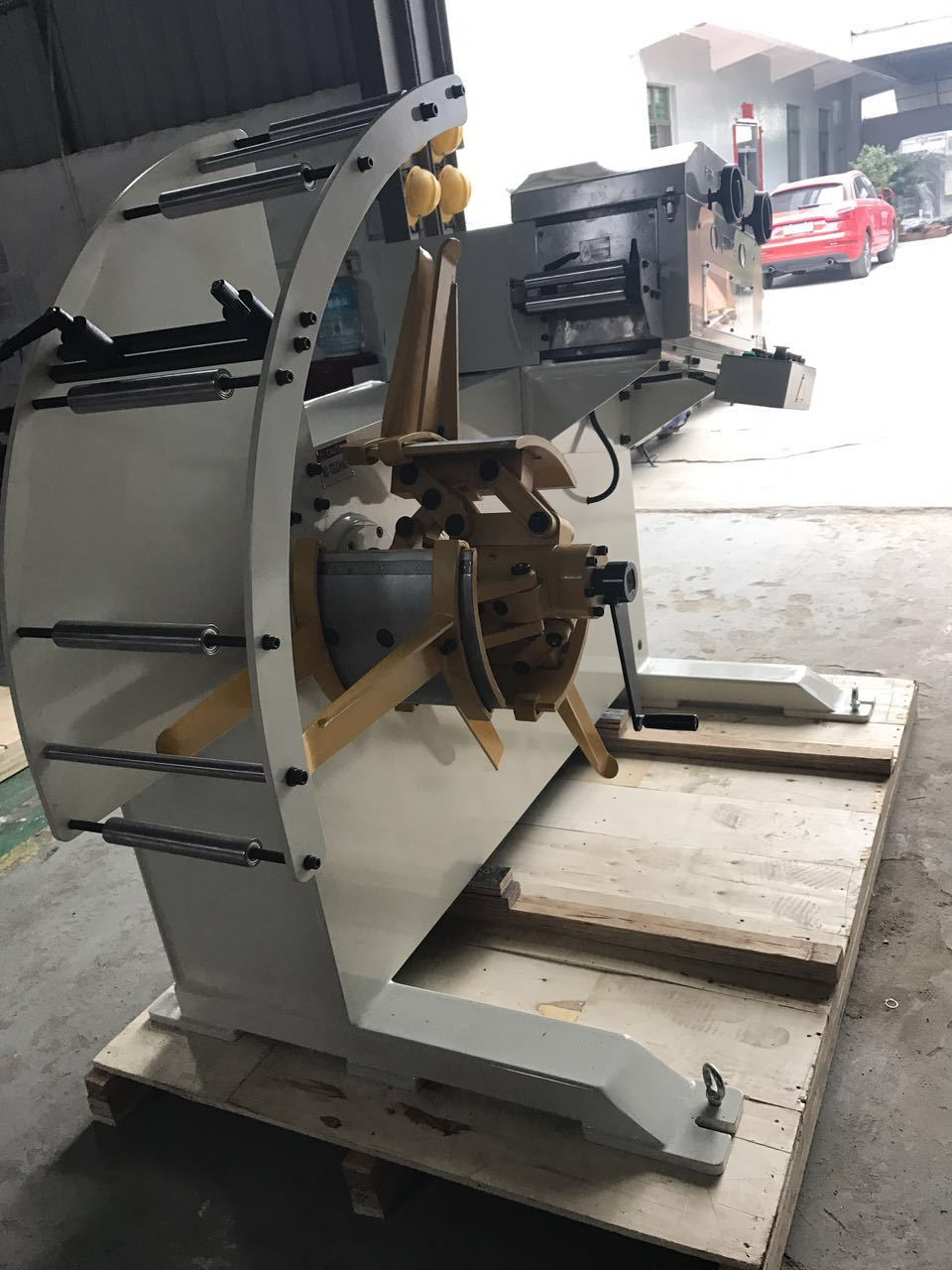HongEr Metal Sheet High Precision Straightener with Decoiler (GL-400F)