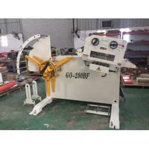 HongEr Metal Sheet High Precision Straightener with Decoiler (GL-400F)